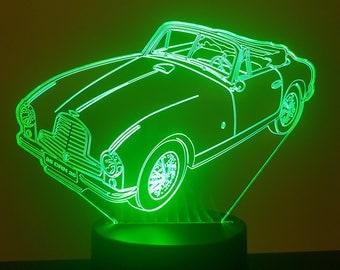 Lamp 3D pattern: Aston Martin