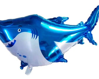 Shark foil balloon