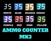 Ammo Counter Mk3 Kit - Reprogrammable