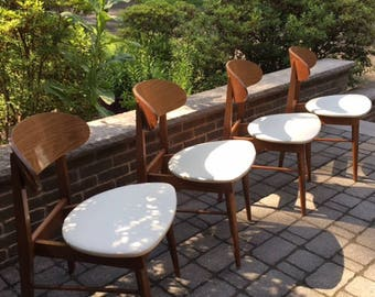 MCM Danish style dining chairs