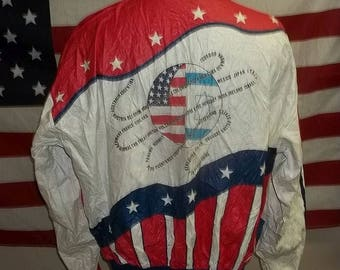 Vintage Tyvek windbreaker 1989 Maccabiah Games size XXL rare item highly presentable collectible
