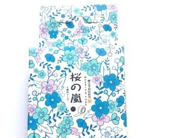 Pretty floral washi tape
