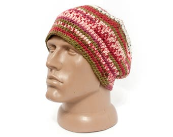 Unisex hat Hippie hat Slouch hat Mens hat Winter hat Hippie hat Warm hat Warm accessories Gifts for Him Gifts for boyfriend Gifts for Dad