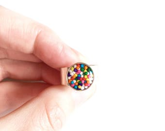 PREORDER Sprinkle ring• cocktail ring, statement ring, gifts for her