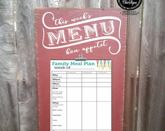 menu planning, menu planner, this week's menu, dinner menu, dinner planner, dinner schedule, meal schedule, family dinner