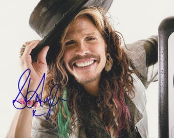 "Steven Tyler ""Aerosmith"" Vintage Original Hand Signed 8X10 Autographed Photo"