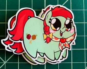 Apple Pony Chubs! Candy Apple Sticker