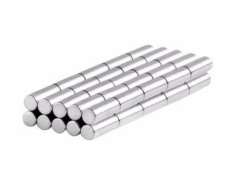 1/8 x 3/8 inch (3.17 x 9.52 mm) Inch Neodymium Rare Earth Cylinder/Rod Magnets N48 (50 Pack)