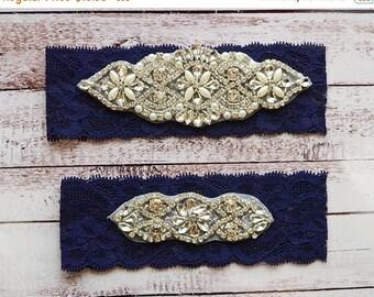 ON SALE Wedding Garter, NO Slip Lace Wedding Garter Set, bridal garter set, pearl and rhinestone garter set, vintage rhinestones Style A2024