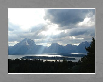 Grand Teton National Park, Signal Mountain, Landscape Print, Photography, Digital Download