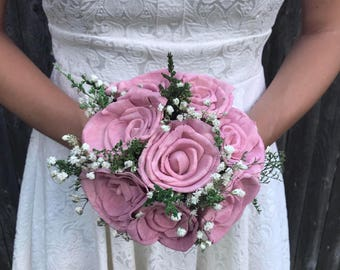 Mini Toss Bouquet - Roses