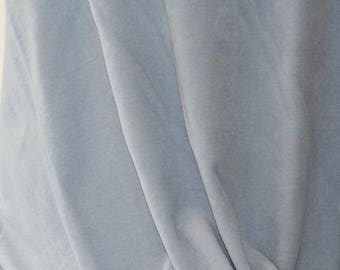 Velour baby Blue - CPauli- Organic Cotton UK Seller