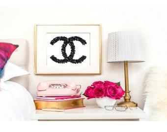 Wall Art Print of Chanel  A3 glossy - unframed Original Digital Design