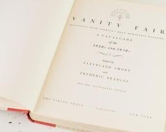 Vintage Vanity Fair Coffee Table Book