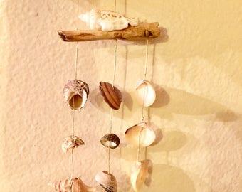 Miniature sea shell wind chime 1/6th scale