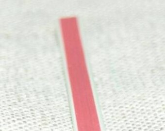 Cane polymer clay half watermelon red green white 5cm
