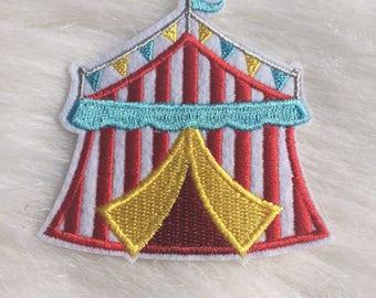 Circus Tent Patch/ Circus Patch