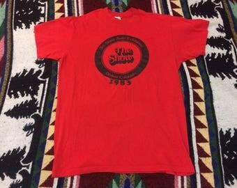 1983 Denver Colorado Auto Show Tshirt Medium