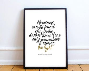 Harry Potter Printable Quote INSTANT DOWNLOAD