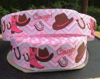 Cowgirl Ribbon, Horse Ribbon, Cowgirl Birthday, Cowgirl Birthday, Horse Birthday, Cowboy Ribbon, Cowgirl Bow