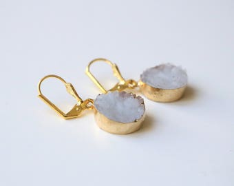 CALLIOPE purple earrings
