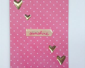 Hello Sunshine Card - Hello Card - Any Occasion Card