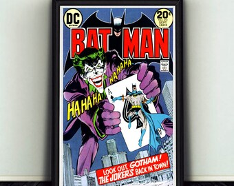 11x17 Batman #251 Joker Comic Book Cover Print