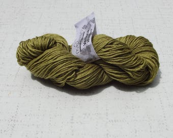 Cascade Yarns Venezia Yarn, Light Olive Yarn, Yarn Destash