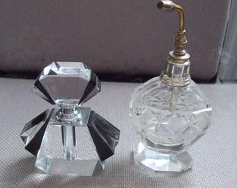 Pair Of Vintage Perfume Bottles