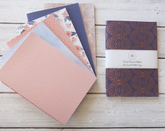 Serene Softcover Notebook Journal Travelers Notebook Diary Writing Notebook Hand Bound 32 Lined White Pages *** Sold Individually ***