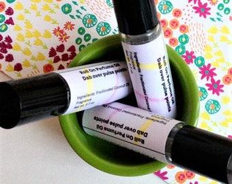 Pink Lemonade Roll On Perfume, Lemon Scent, Lemon Perfume, Citrus Scent, Roll On Perfume Oil, Roll On Oil