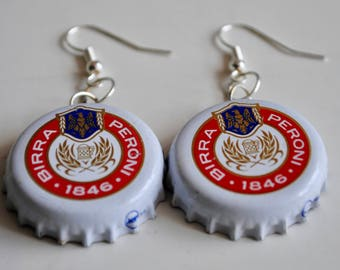 Peroni Bottlecap Earrings