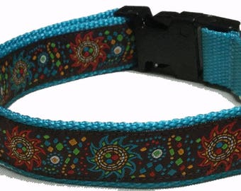 Dog Collar, Sunflowers
