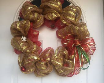 "18"" Wiremesh Wreath"