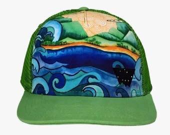 Yokohama Hawaii Trucker Hat