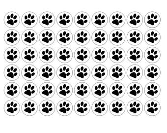 Barbeque stickers, Guinea Pigs, Hamster, 117 Paws