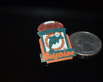 "Vintage Coca Cola ""Miami Dolphins"" NFL Lapel Pin"