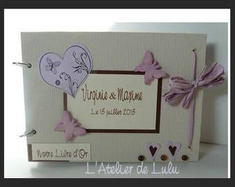 Guestbook for wedding 'butterflies'