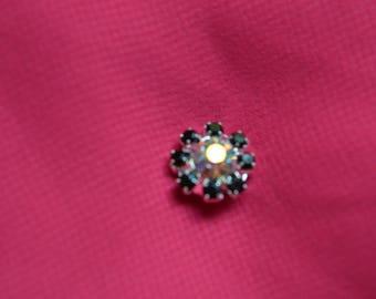 fashion 12 mm rhinestone button