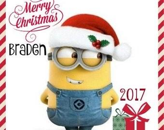 Minions christmas | Etsy