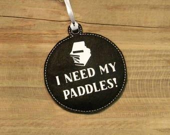 I Need My Paddles Stranger Things Ornament