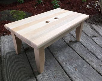 Maple Step Stool