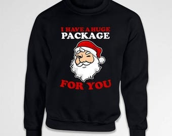 Funny Santa Sweater Holiday Jumper Christmas Sweatshirt Xmas Clothing Christmas Ideas Gift Ideas For Men X-Mas Hoodie Pullover TEP-633