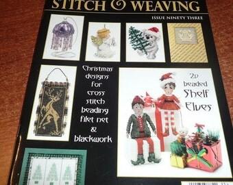 Cross Stitch & Bead Weaving Magazine July 2015 Issue