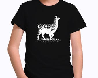 Llama sketch Children T-Shirt