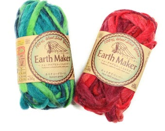 30g wool slub yarn/ christmas yarn/