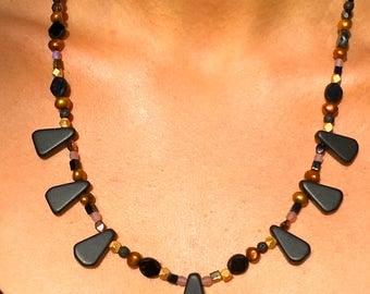 Beaded Necklace, Late August Nights