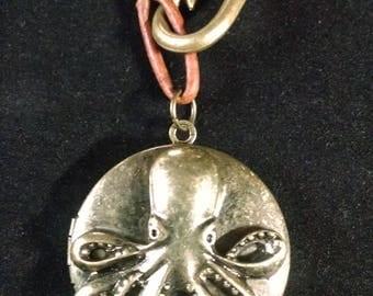 Kraken locket necklace