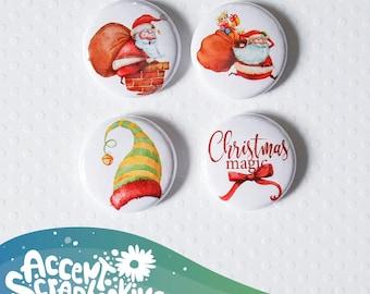 "Badge 1"" - Christmas Magic"