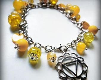 3 Chakra bracelet-Yellow